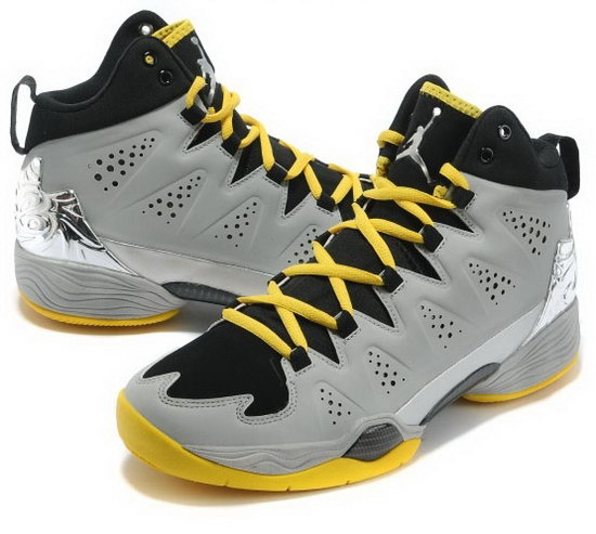 Air Jordan Melo M10 Grey Yellow Hong Kong